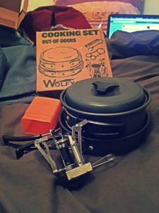 kit camping cuisine