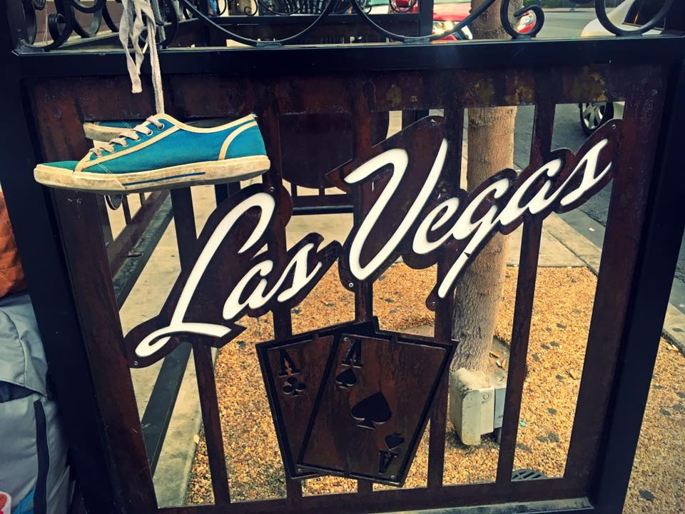 Las Vegas shoes