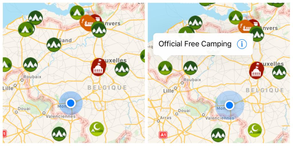 apps de voyage iOverlander
