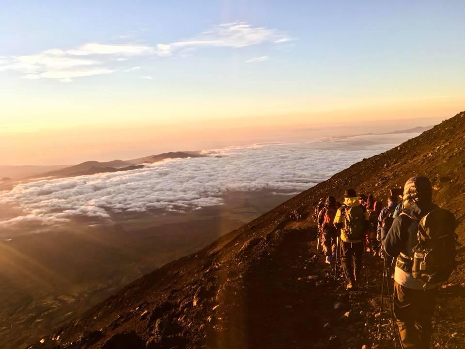 descente Mont Fuji